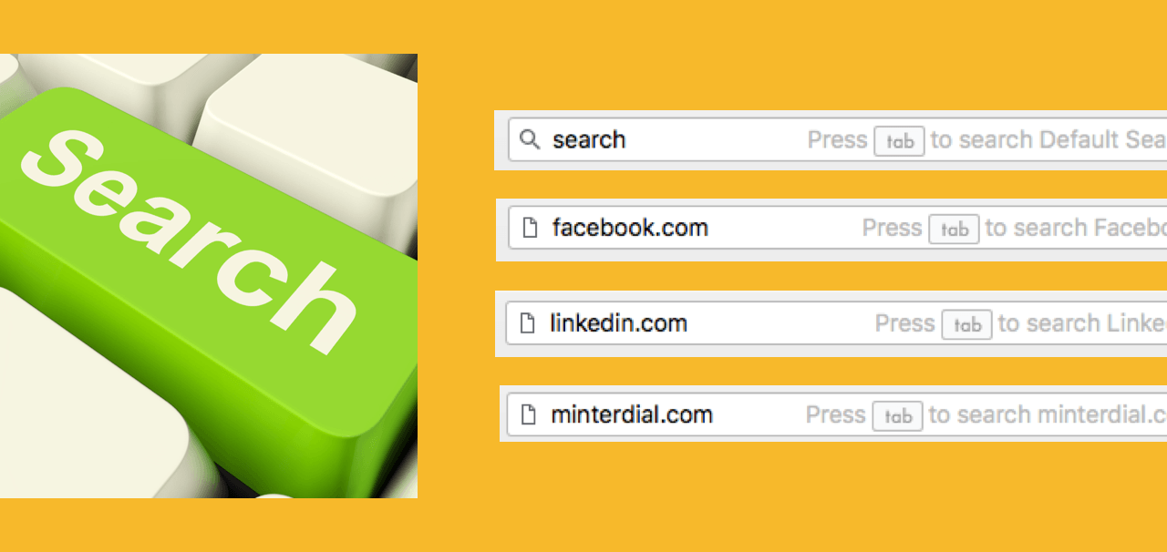 Press Tab To Search: Tab Shortcut In Chrome Browser Address