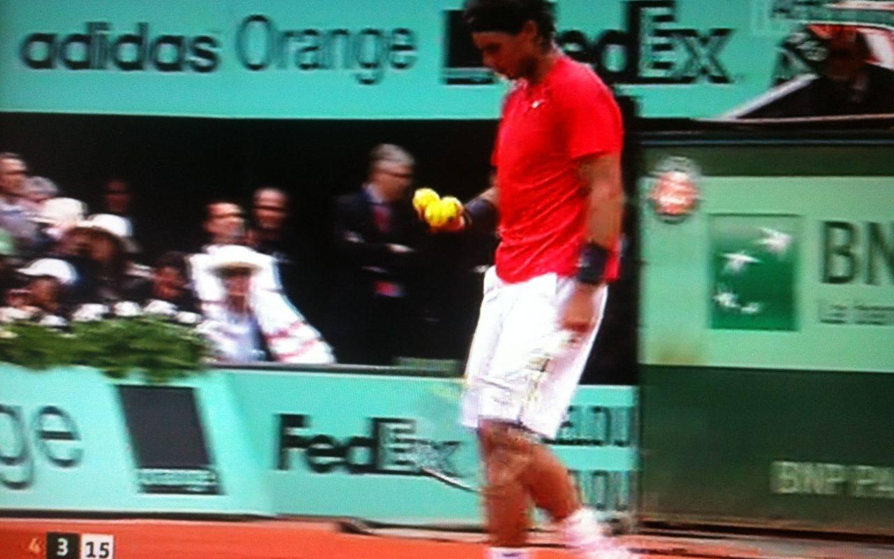 Rafael Nadal, Three balls, The Myndset Brand Strategy