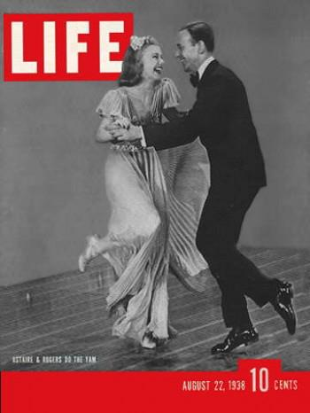 Ginger Rogers and Fred Astaire LIFE Magazine, Minter Dialogue Myndset Digital Marketing