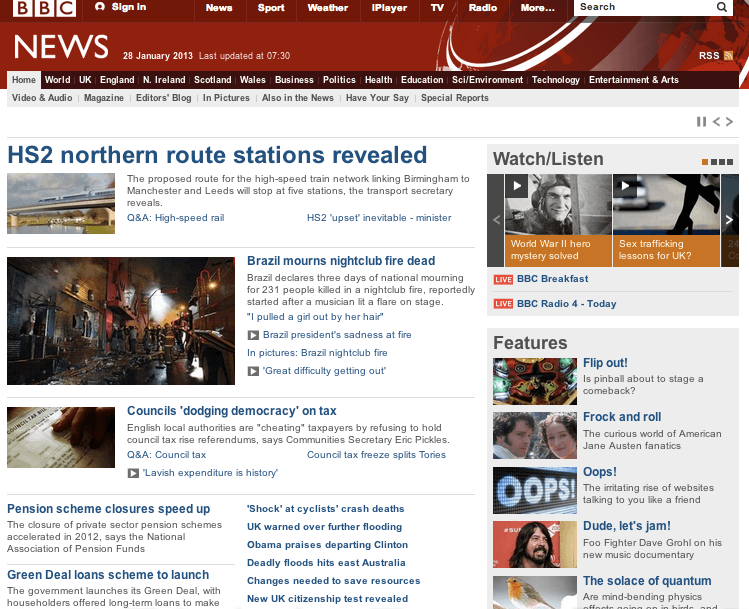 BBC front page oops, The Myndset Digital Marketing