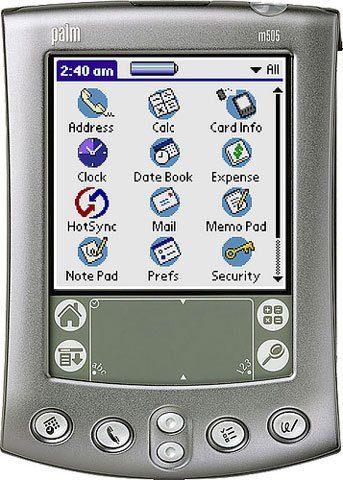 palmm505 digital address book