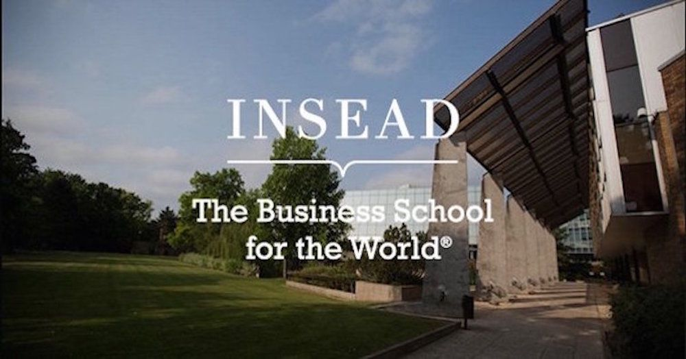 INSEAD banner