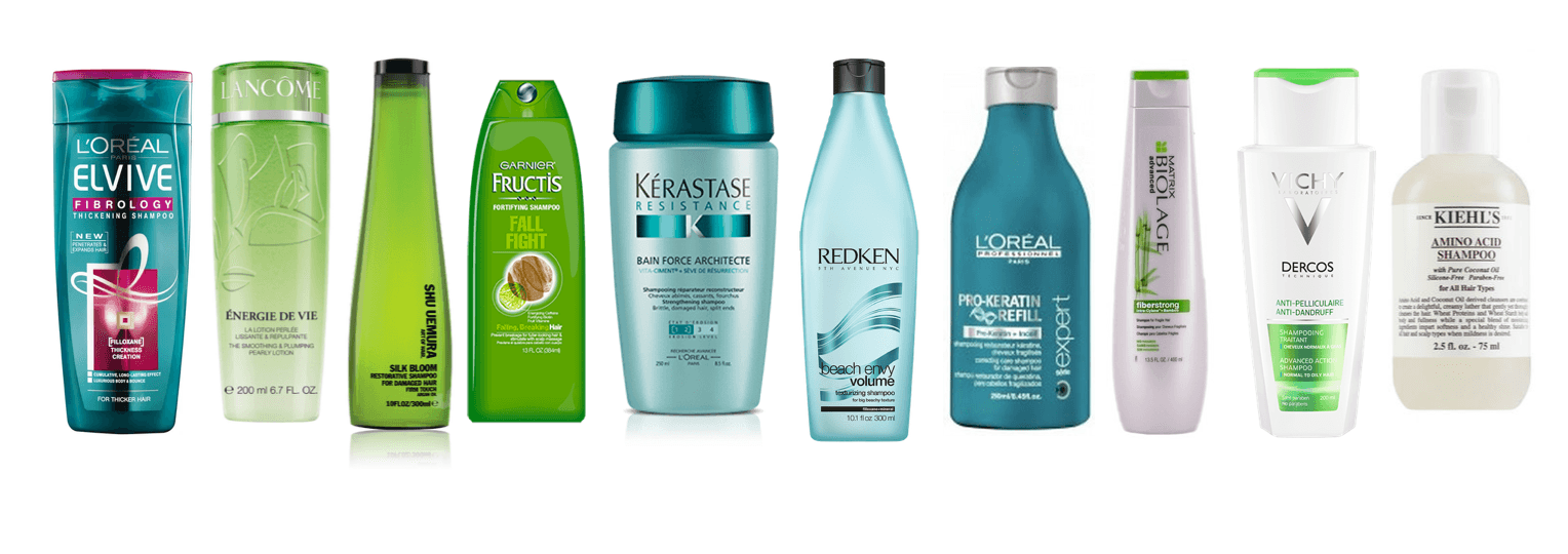 l'oreal products shampoos
