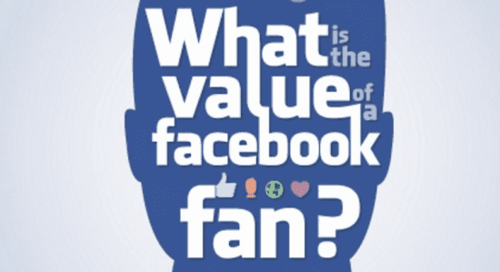 What Is The Value Of A Facebook Fan? [infographic]