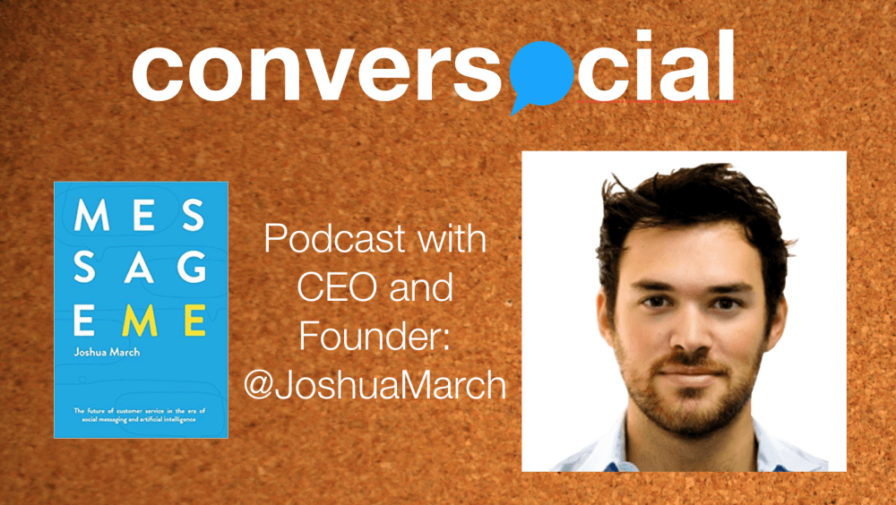 Joshua March banner image Conversocial CEO