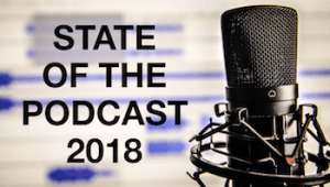 state of podcasting 2018