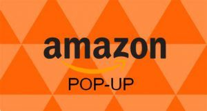 amazon pop up retail