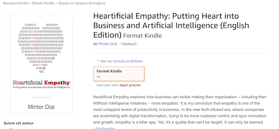 heartificial empathy kindle in amazon