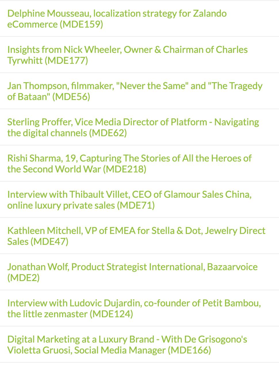 Minter Dialogue Top 10 all time
