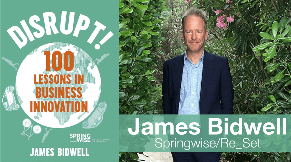 James Bidwell Author of Disrupt!